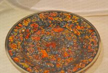 Colorful Mosaic Serving Tray by DECENT LITES.