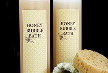 honey bubble bath