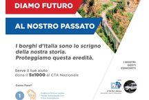 5X1000 / Contribuisci, anche tu, alla realizzazione del nostro progetto per la valorizzazione del Turismo Sostenibile.