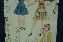 moda infantil 30s