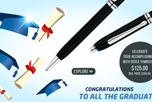 Graduation Season / Congratulating all the graduates! The Future is yours.  Celebrate your accomplishment with Cross Townsend!  Get your orders: Call us at (800) 263 2736 or email us at support@penboutique.com Visit our website: www.penboutique.com  #Graduate #Graduation #Celebration #Accomplishment #Gifts #Pen #Pens #Writing