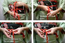 Obijime knot