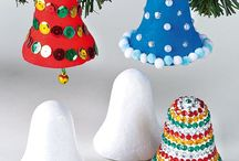 Crafting with Polystyrene Bells / Some ideas of how to decorate Polystyrene Bells