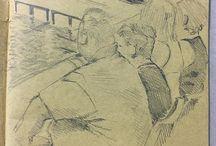 my work Spectators #pencil #sketch #sketchbook #drawing