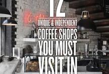 Coffee Shops to Remember / coffee, travel,
