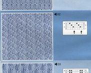 Patterns knitting -- Узоры спицами