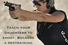 Teach Your Daughters To Shoot / Pins all about self defense for your Daughters.
