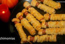Recetas de Hallowen / Recetas de cocina fácil para el día de Hallowen, para los niños de la casa.