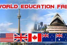 World Education Fair / WORLD EDUCATION FAIR ( 4TH JUNE, HOTEL TAJ BANJARA( ANJUMAN A AND B HALLS)11-5PM For Free Registration to visit our World Education Fair taking place in Hyderabad on the 4th of June, please register Free. website www.worldeducationfair.co.in