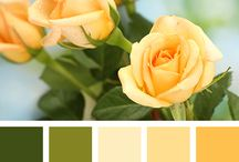 Yellow color / Yellow decor, golden, yellow craft, yellow room, cards, jewelry, yellow dress, painting, galben, auriu