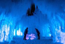 Stillwater MN Ice Castle / Visit the Stillwater Ice Castle this season. Embrace winter and the Hygge Minnesota style.