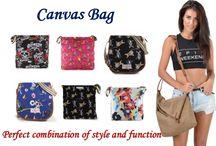 Canvas Crossbody Bags