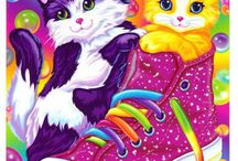 Lisa frank / by Carol Kavonius
