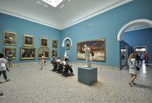 Virtual Tour - Sala XXXVII e sala XXXVIII- Dipinti italiani del XIX secolo. / Nonostante le difficoltà di percorso e la mancanza di omogenerità dei settori della Pinacoteca, la sala XXXVII e la sala XXVIII, che chiudono il percorso, meritano di essere visitate per conoscere i dipinti italiani del XIX secolo.
