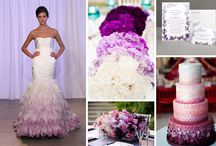 OMBRÉ WEDDING INSPIRATIONS