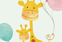 Safari animal cartoons