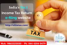Online Tax Return Payment in India / Pay your income tax return through online in India http://www.vittena.com/vittetax/