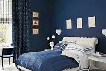 Interior - Blue Colours - Ulla Blenemann / Blue inspiration for interior, architecture and decoration - Ulla Blennemann