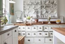 kitchen / vintage furniture