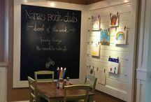 Homeschool ideas/ small spaces
