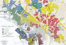Redlining Maps of U.S. Cities / by Stuff You Missed in History Class