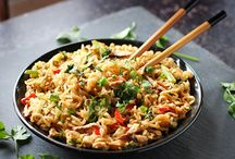 Noodles and Rice: bowls