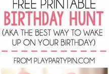 Celebrating: Birthdays
