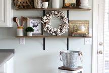 Shelf decorations ideas