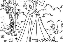 Coloring pages for Lena boo / by Misty Rose
