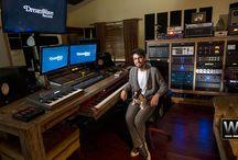 Dreamwave Records, Los Angeles / Recording Studio Designed and Build by Westlake Pro.