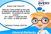 Avery Life Hacks / Follow our weekly Life Hacks for advice and ideas on making your life a little easier.