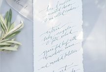 Stunning Calligraphy and Hand Lettering / by Cards & Pockets