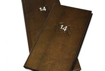 Mamba Snake Skin Menu Covers / Mamba Snake Skin Menu Covers - Luxury snake skin look leather covering for a durable and hard wearing menu cover with an exotic appeal.
