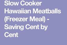 Hawaiian Meat Balls (Crockpot)