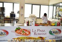One day in a Open day of Pinsa! / Open day nello stabilimento produzione alimentari Di Marco, dove viene prodotta la farina Pinsa Romana per la Pinsa®.