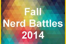Fall Nerd Battles 2014