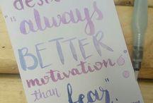books + lettering = ❤ / lettering principiante y frases de libros