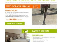 Specials & Some fun / All our specials through the year and some updates of whats happening in the Mother City and World