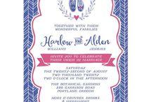 Lemon Leaf Prints / Invitations, Stationery & Art Prints