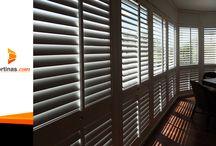Persianas de Madera / Encuentra gran variedad de persianas de madera para la decoración e tu hogar u oficina.
