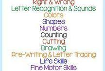 Preschool - things to teach
