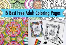 Coloring adults