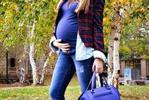 embarazada y a la.moda