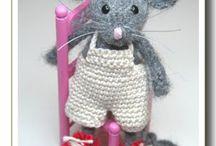 Háčkování - myšky