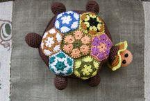 черепахи и  лягушки