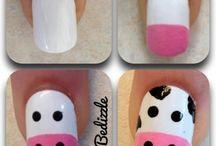 Nails and make-up styles!