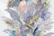 estampas tropicais