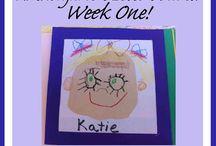 Kindergarten  / by Tina M. Sowell