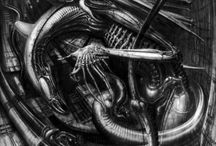 HR Giger / HR Giger was a surreal artist most known for his work in the Alien franchise.