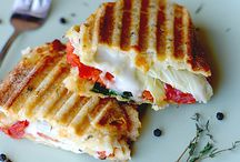 Food- Pizza & Paninis